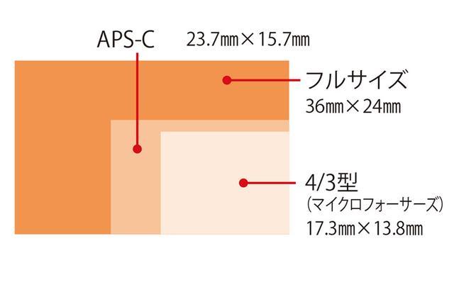 画像1: 撮像センサーが大きいことで画質やボケ方にメリットがある