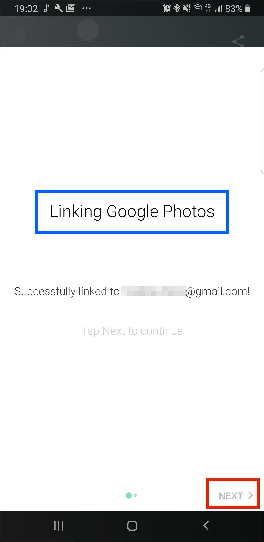画像1: 写真の読み込み先にクラウドストレージを指定する