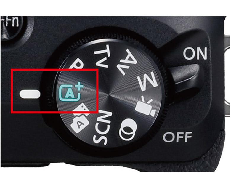 画像: とりあえずモードダイヤルを「フルオート」に合わせておけば、細かな設定はカメラが自動的に行ってくれる。