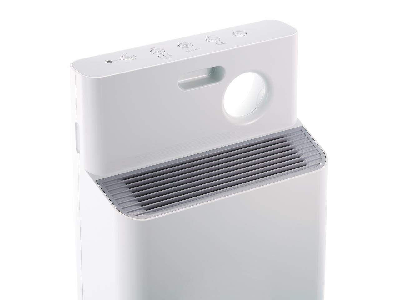 画像: 薄型ボディに高機能を凝縮したスタイリッシュな空気清浄機
