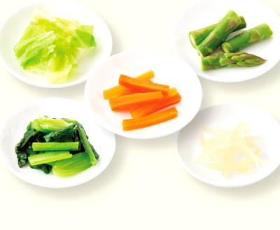 画像2: 【腎臓病の食事レシピ】カリウム制限に対応した「野菜の切り方」を伝授!