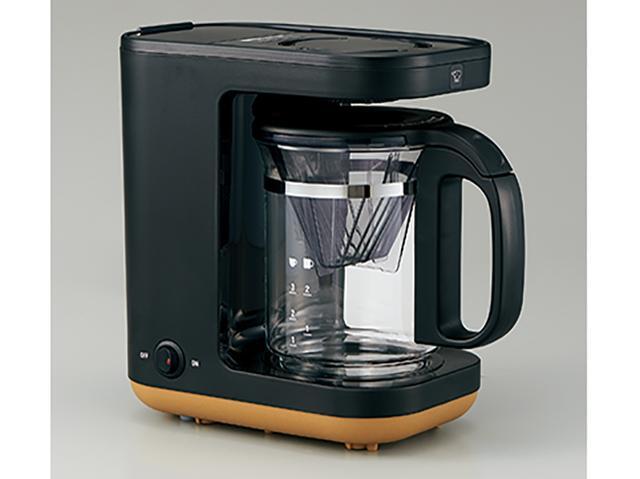画像: 「STAN.」シリーズは、ホットプレートのほか、炊飯器、コーヒーメーカー(写真)、電気ポットの4種類で展開。