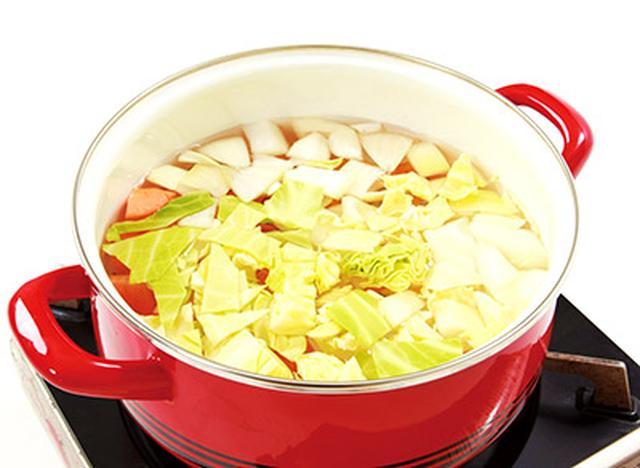 画像4: 【ファイトケミカルスープとは?】医師が考案した「4種の野菜入りスープ」の作り方
