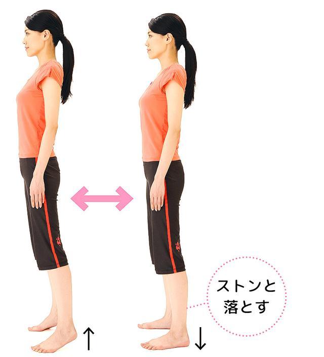 画像2: 【骨粗鬆症を予防】話題の「かかと落とし」で骨密度がアップする