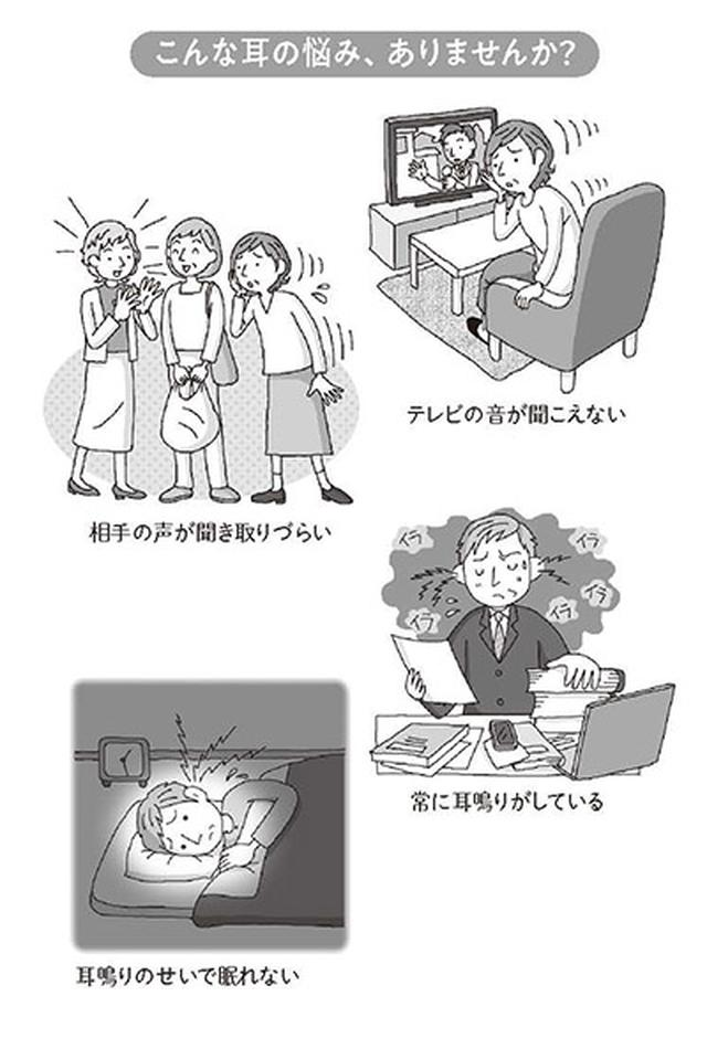 画像: 耳鳴りからうつ症状に陥った人は、ストレス、心配、不安、イライラも重ねて感じるようになる。
