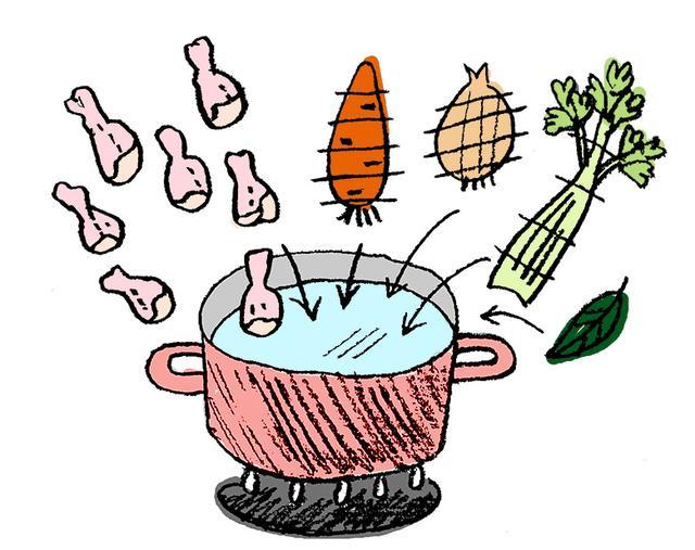 画像1: 【ボーンブロススープの効果と作り方】子供の多動・不注意が「食事」を変えたら落ち着いた例も