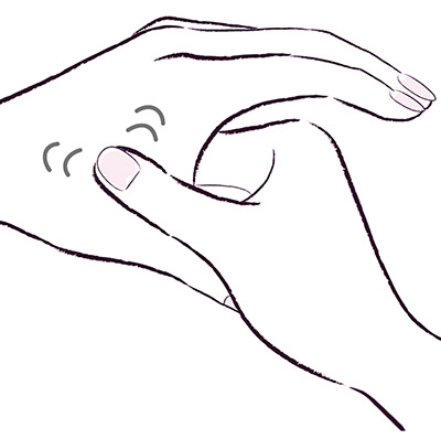 画像2: 手のツボ押しマッサージ