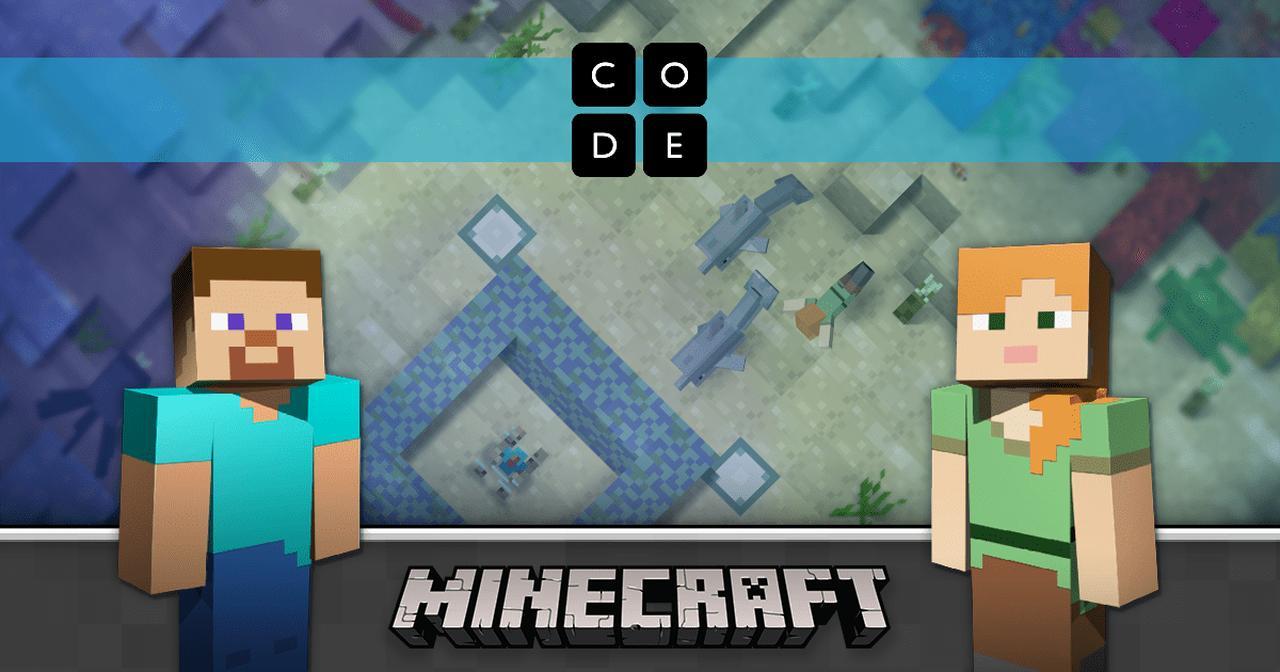 画像: Minecraft Hour of Code