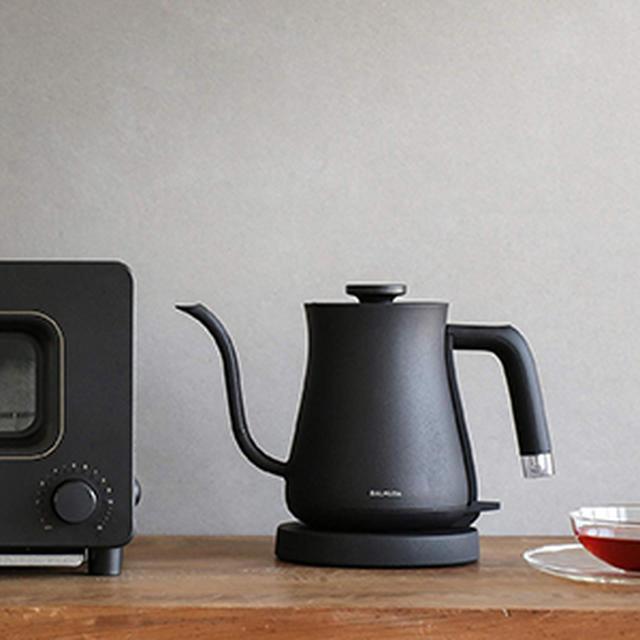 画像: バルミューダ 電気ケトル BALMUDA The Pot K02A-BK