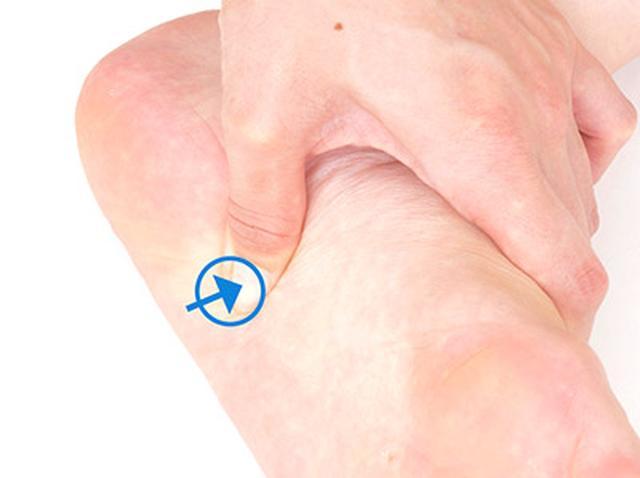 画像6: 【足裏の反射区】症状別「足の裏もみ」のやり方 心の痛みに気づいてあげることが大切
