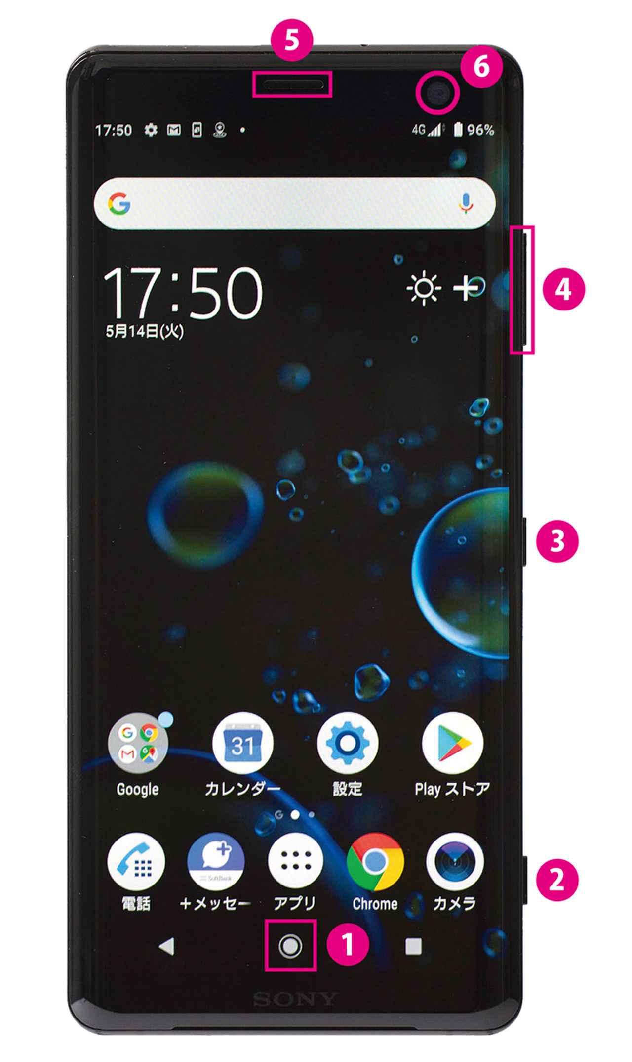画像4: 【iPhone&Android比較】各部の名称は?スマホの外観をチェックしよう
