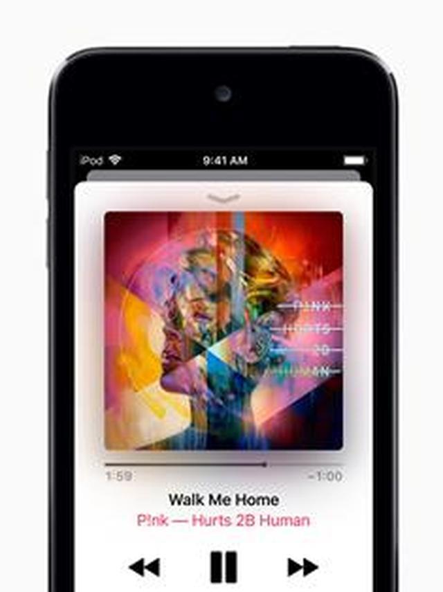 画像: たくさんの音楽を気にせず保存できる大容量256GBモデルも選べる。 www.apple.com