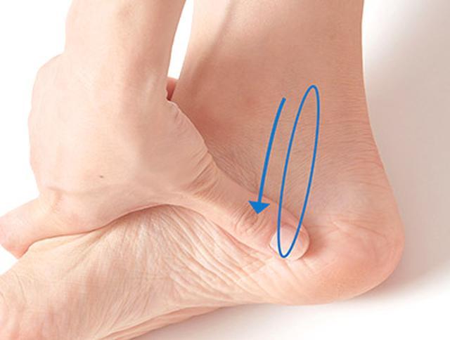画像25: 【足裏の反射区】症状別「足の裏もみ」のやり方 心の痛みに気づいてあげることが大切