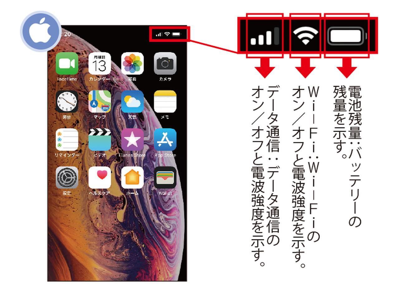画像: iPhoneの画面