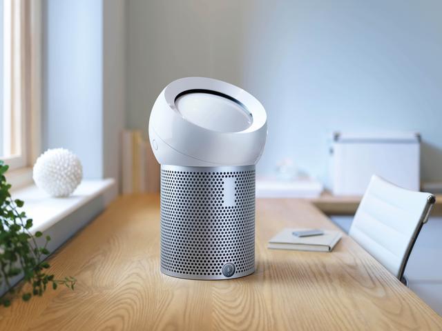 画像1: 寝室、書斎、子供部屋などに最適な小型の空気清浄機能付きファン
