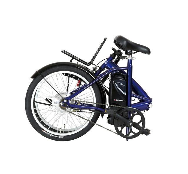 画像1: 【折りたたみ式】電動アシスト自転車(20インチ) ジック「TRANS MOBILLY CONVENIENT」
