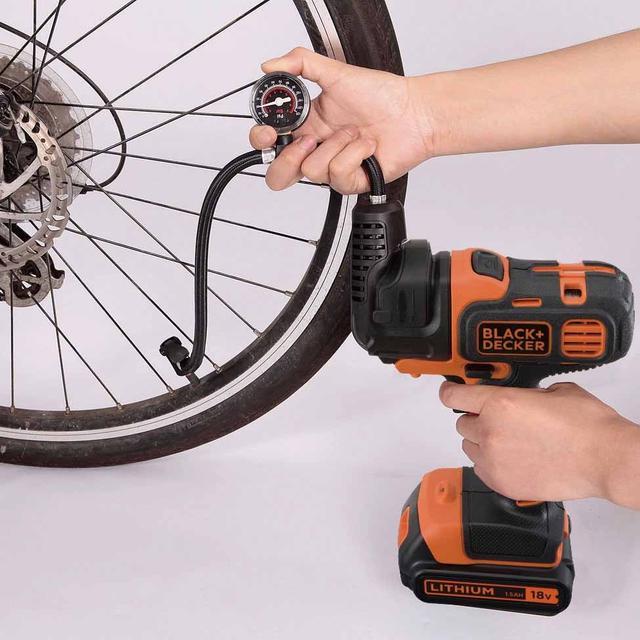 画像2: 【自転車やボールの空気入れに】ブラックアンドデッカーの多機能電動工具「マルチエボシリーズ」
