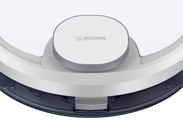 画像: 水量を制御しながらモップを湿らせるOZMOモップシステムを採用。部屋の間取りはレーザースキャンで測定し、効率的に掃除を行う。
