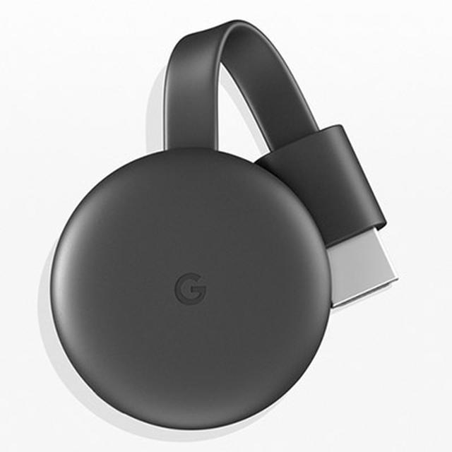画像: 自宅に無線LAN環境があるなら、テレビのHDMI端子に接続するGoogle・Chromecast(実売価格:4980円)で動画が見られる。