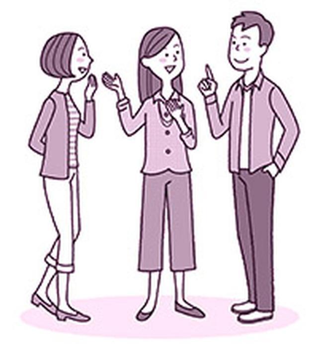 画像: 人との心地よいつながりを持つことで、腹側迷走神経がうまく働いて ストレスを軽減しやすくなる
