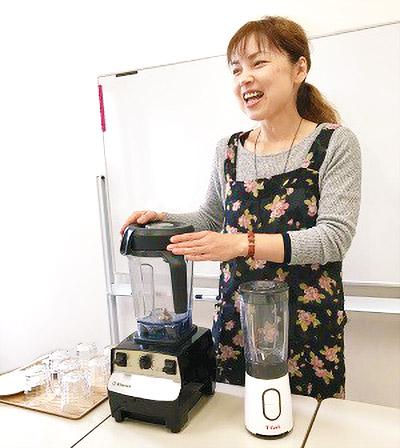 画像: さまざまな組み合わせを試食できる大根スムージー講習会は毎回大好評!