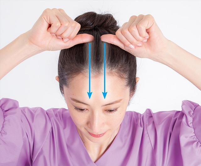 画像3: 「頭の爪刺激」のやり方