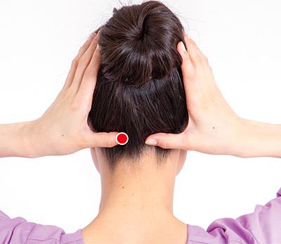 画像4: 首のズレが関節痛の原因に!足首痛・腰痛・股関節痛を解消する「後頭部もみ」のやり方