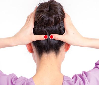 画像5: 首のズレが関節痛の原因に!足首痛・腰痛・股関節痛を解消する「後頭部もみ」のやり方