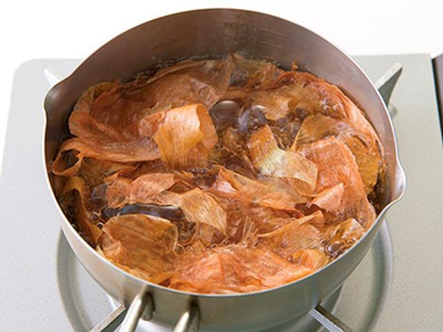 画像6: 【玉ねぎの皮レシピ】有効成分は中身の30倍!皮の粉・煮汁の作り方 めちゃ旨&お手軽アレンジ料理を大公開