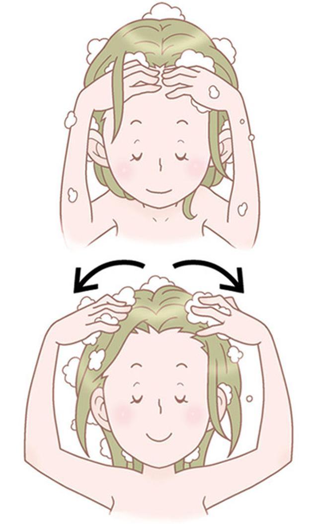 画像4: 【髪の洗い方】変えるだけで白髪や薄毛を防ぐ美容師考案の「シャンプー方法」