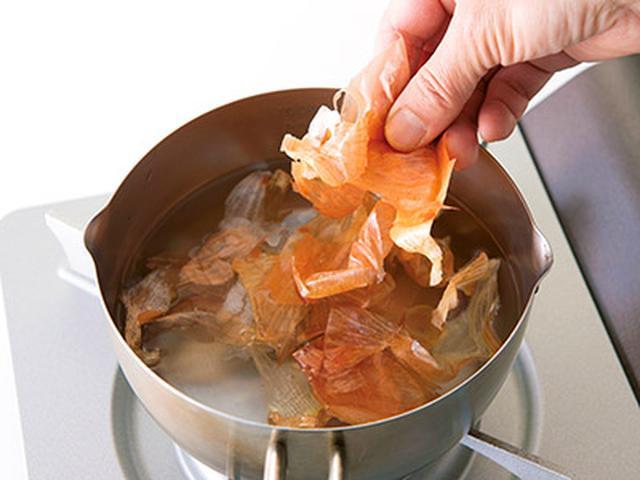 画像5: 【玉ねぎの皮レシピ】有効成分は中身の30倍!皮の粉・煮汁の作り方 めちゃ旨&お手軽アレンジ料理を大公開