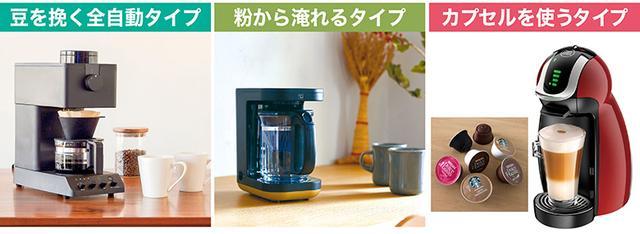 画像: ■ブームを背景にコーヒーメーカーも多様化