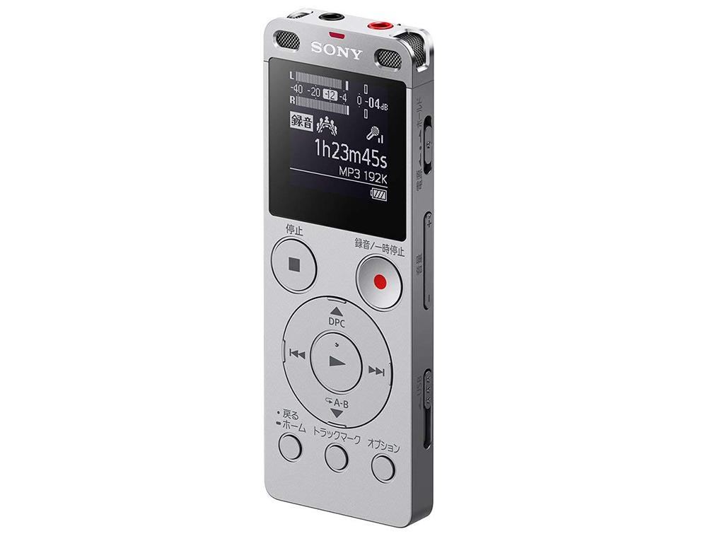 画像: ソニー ステレオICレコーダー FMチューナー付 ICD-UX560F/S
