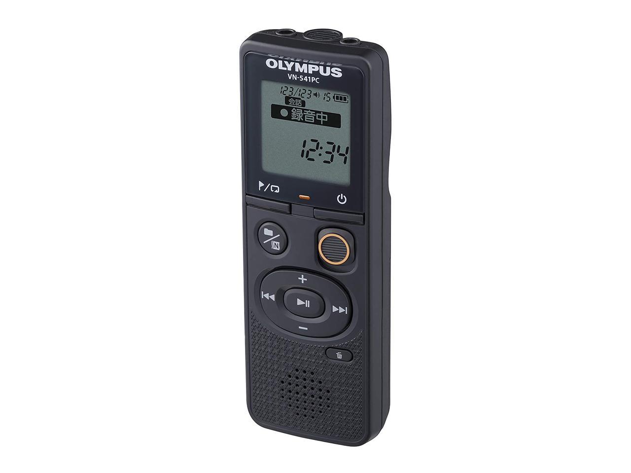 画像: OLYMPUS ICレコーダー VoiceTrek VN-541PC