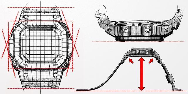 画像: いまでは当たり前に見える形状やデザインだが、そのすべてに理由がある。 g-shock.jp