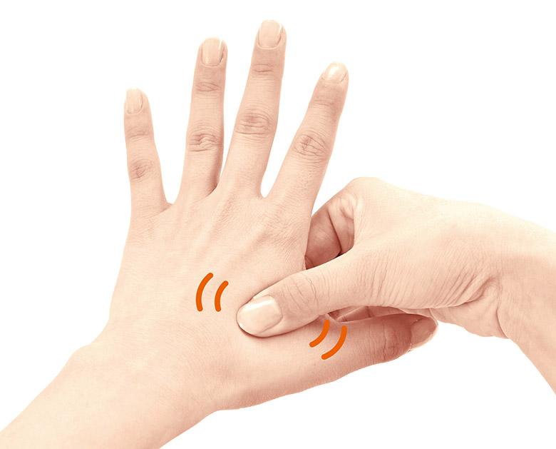 画像2: ストレス・イライラが止まらない時に効果的な「手のツボ押し」