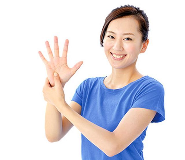 画像: 手もみで効果を上げるポイントは押すと痛みを感じる「圧痛点」を見つけること