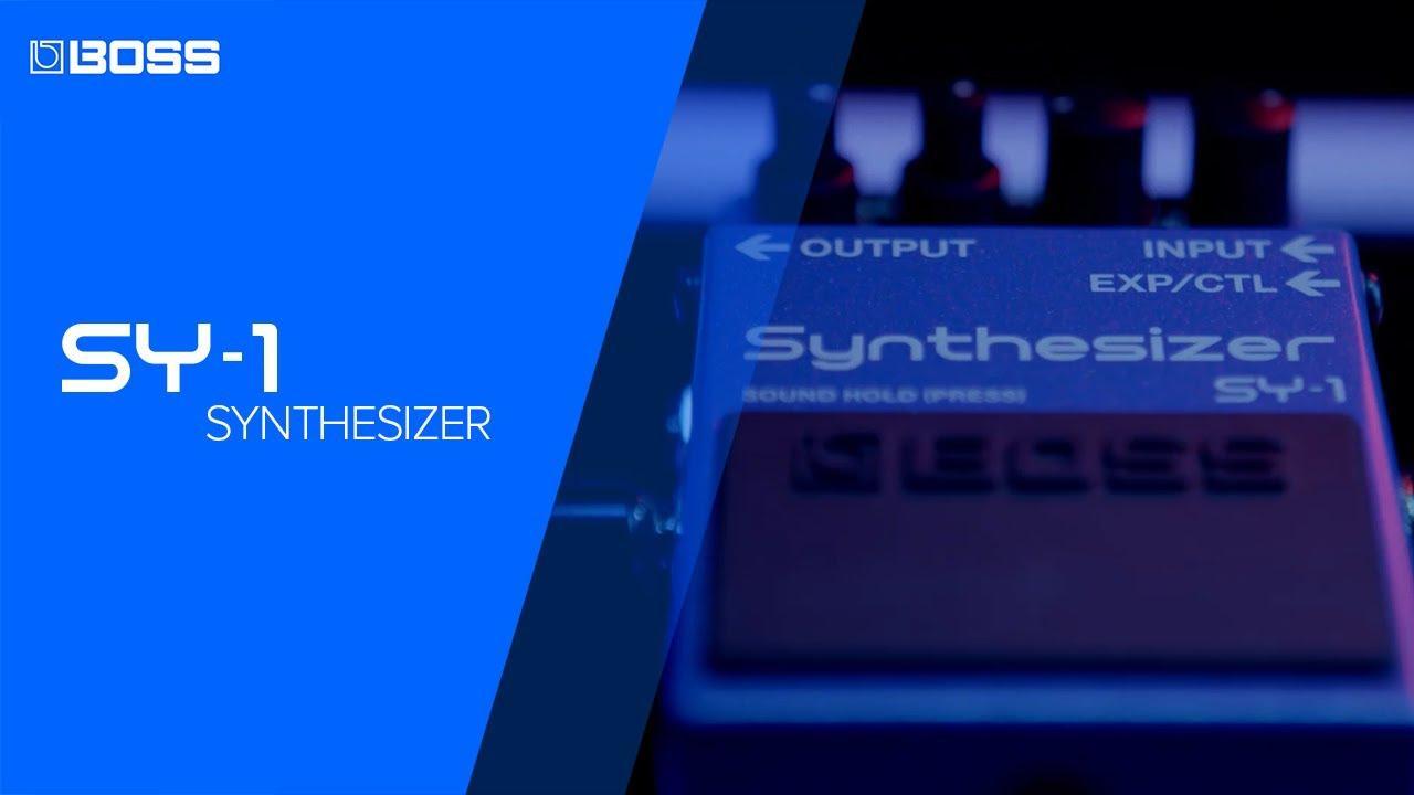 画像: BOSS SY-1 Synthesizer featuring Thomas McRocklin youtu.be