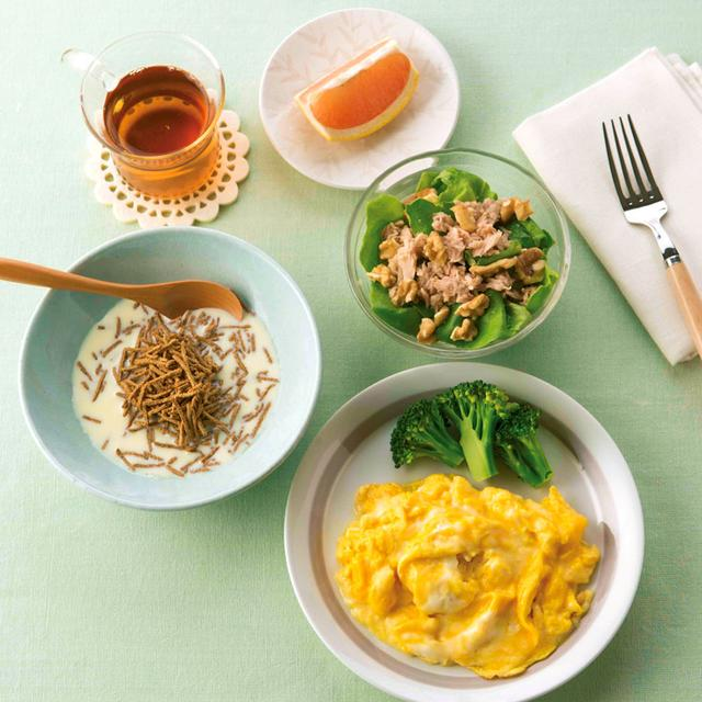 画像1: たんぱく脂質食の献立例