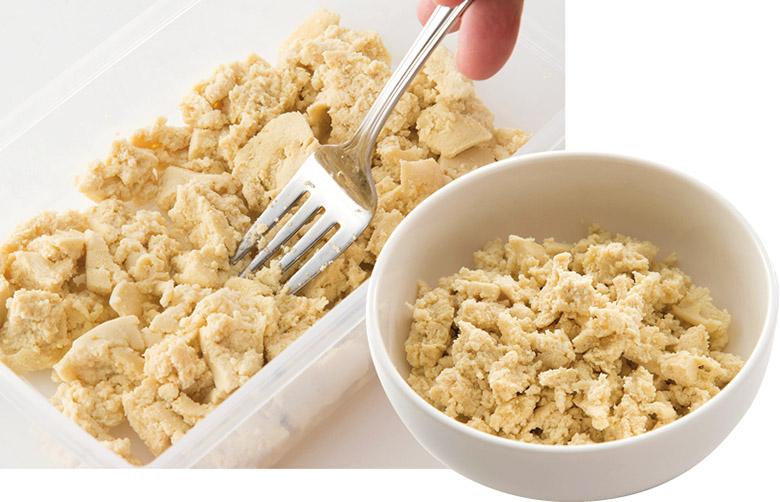 """画像3: 糖質オフダイエットに「高野豆腐」を活用!6kgやせた""""ソイライス""""のレシピ・やり方を大公開!"""