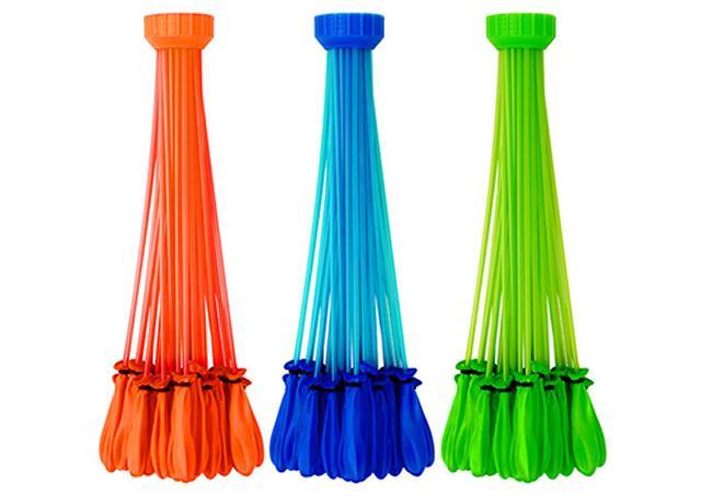 画像: 一度に大量の水風船を作ることができる。