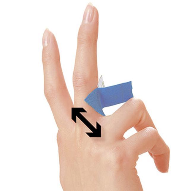 画像20: ふくらはぎダイエットに!二重あごや二の腕など「部分やせ」ができる【ダイエットテープのやり方】を紹介