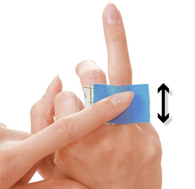 画像43: ふくらはぎダイエットに!二重あごや二の腕など「部分やせ」ができる【ダイエットテープのやり方】を紹介