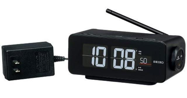 画像: 黒 本体サイズ:7.2×16.8×9.6cm 電波 デジタル 交流式 カラー液晶 シリーズC3 FLIP