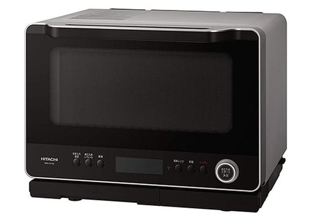 画像: 30L スマートフォン連携 ダブル高速ヒーター300℃熱風2段オーブン 過熱水蒸気 Wスキャン調理 ワイド&フラット庫内 外して丸洗いテーブルプレート