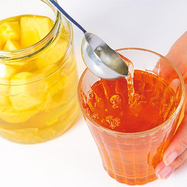 画像13: 【パイナップル酢の作り方&飲み方】熱中症予防や紫外線対策におすすめのフルーツ酢