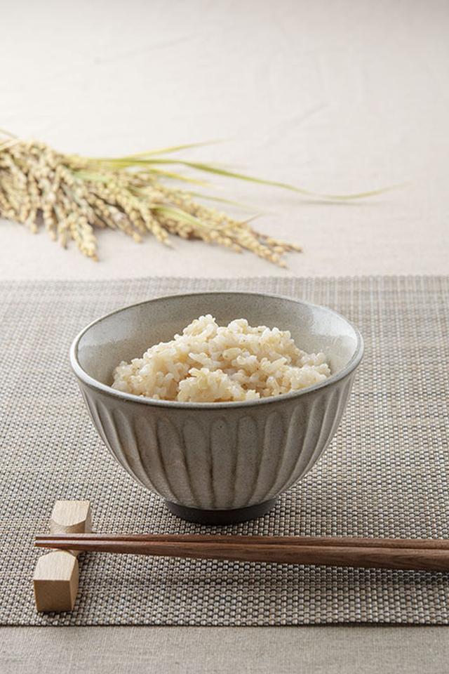 画像: 「ナチュラル朝日」の炊きたて玄米。