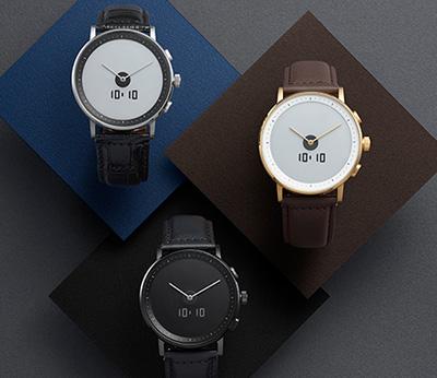 画像: 時計メーカーのスマートウォッチ GLAGOM ONE