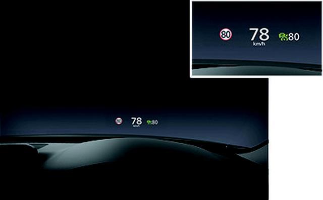 画像: マツダは運転姿勢や運転環境も安全運転につながると提唱。目線移動を減らすヘッドアップディスプレイもその一つだ。