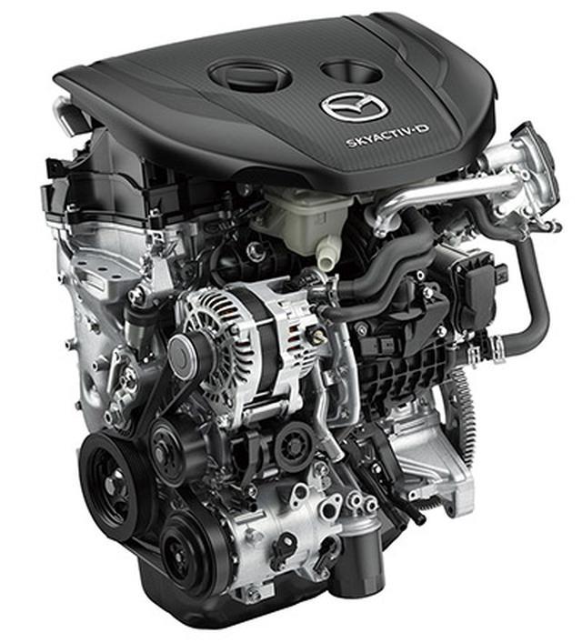 画像: エンジンはガソリン(1.5/2.0L)/ディーゼル(1.8Lターボ)/スカイアクティブX(2.0L)と豊富に用意。どれも6速MT/6速ATが選択可能だ。